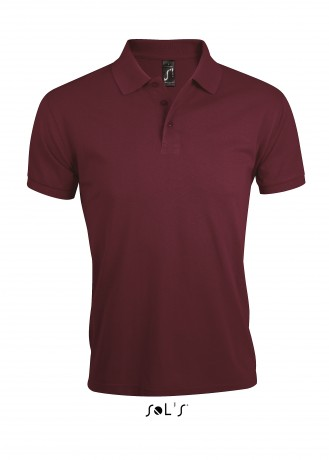 Polo homme polycoton - 00571 - rouge bordeau