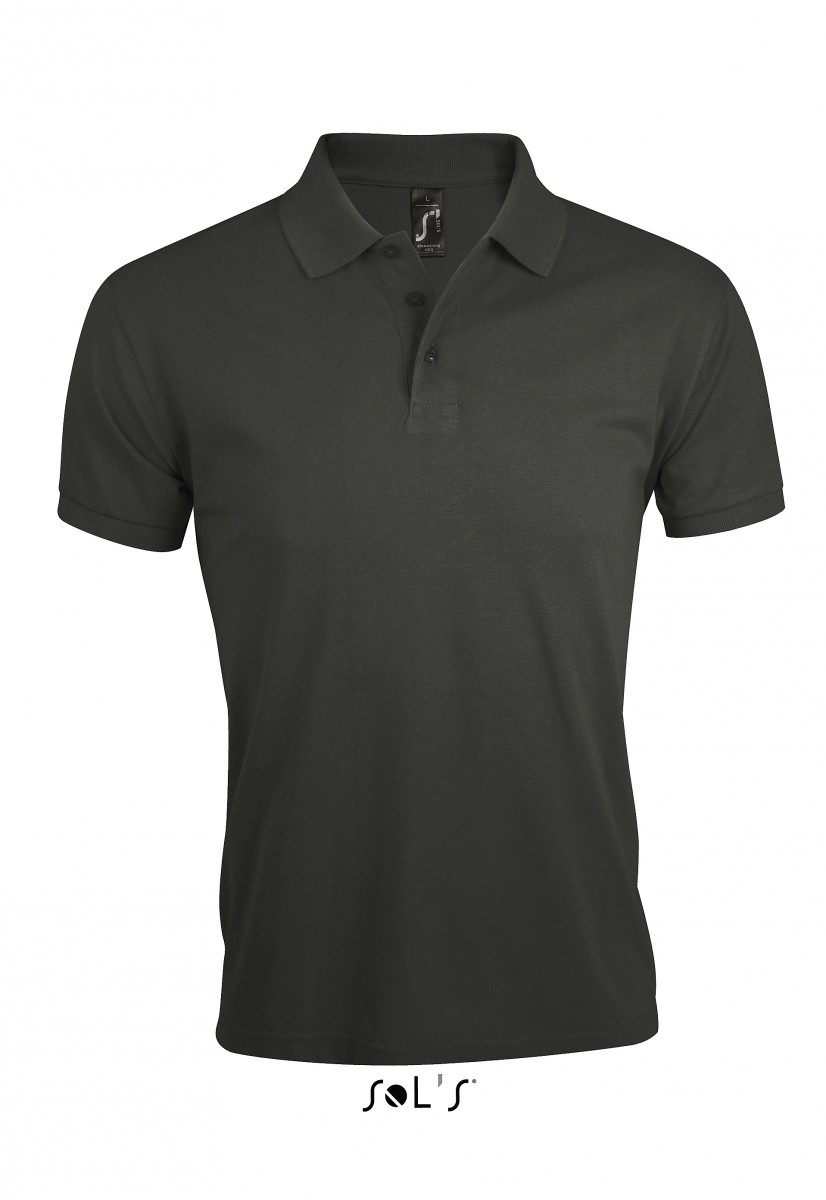 polo homme manches courtes - mélange polyester