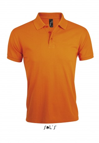 Polo homme polycoton - 00571 - orange