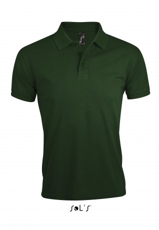Polo homme polycoton - 00571 - vert bouteille