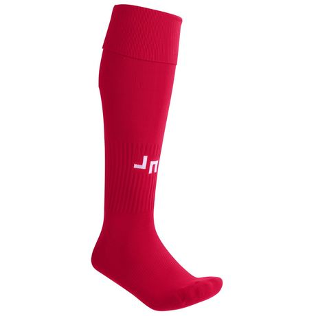 chaussettes sport unies - football - JN342 - rouge