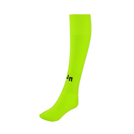 chaussettes sport unies - football - JN342 - jaune acide