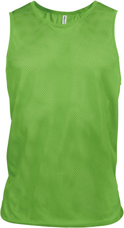 chasuble multisports - PA043 - vert fluo