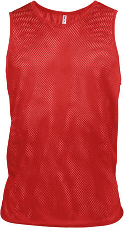 chasuble multisports - PA043 - rouge