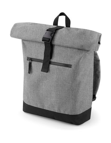 Sac à dos roll-top 12L - compartiment ordinateur - BG855 - gris