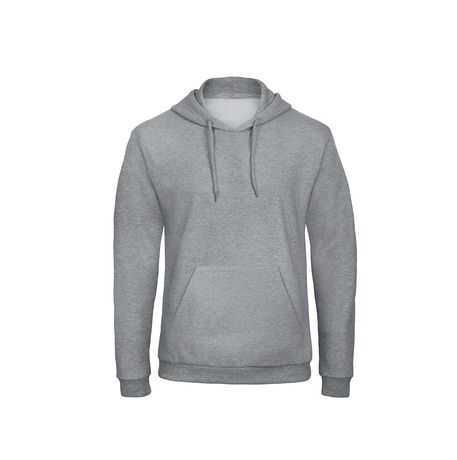 Sweat-shirt à capuche - unisexe - WUI24 - gris chiné