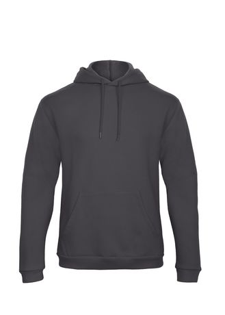 Sweat-shirt à capuche - unisexe - WUI24 - gris anthracite