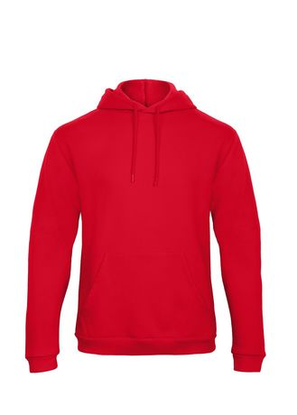 Sweat-shirt à capuche - unisexe - WUI24 - rouge