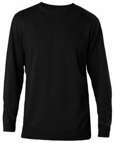 Pull col rond homme - K967 - noir