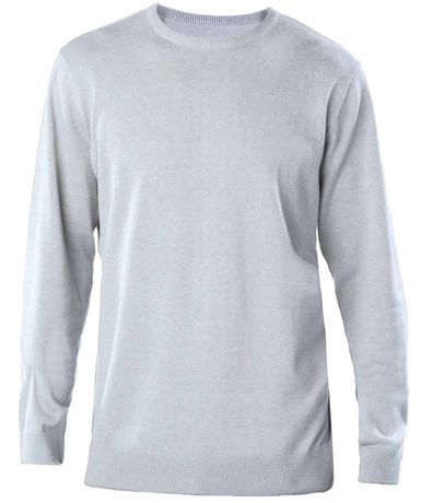 Pull col rond homme - K967 - gris