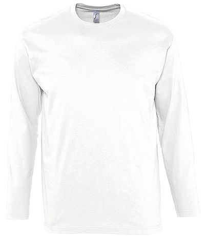 T-shirt manches longues HOMME - 11420 - blanc