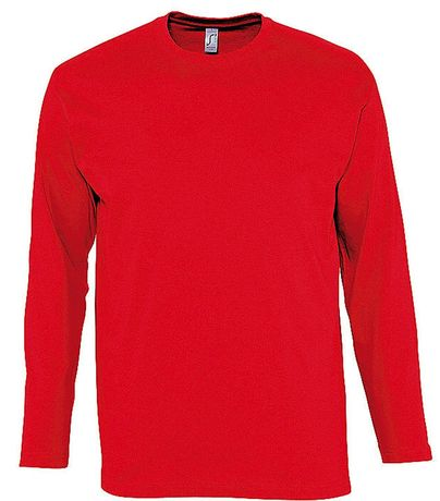 T-shirt manches longues HOMME - 11420 - rouge