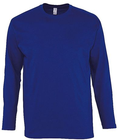 T-shirt manches longues HOMME - 11420 - bleu outremer