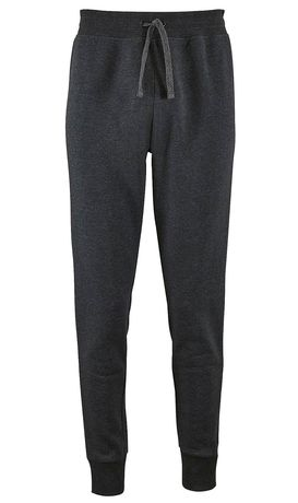 Pantalon jogging femme coupe slim - 02085 - gris anthracite