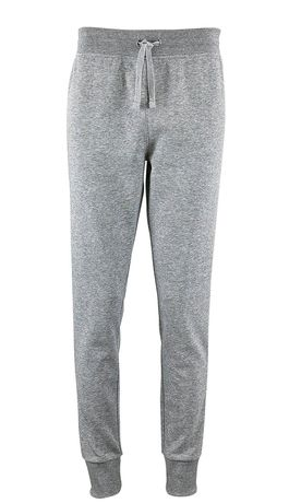 Pantalon jogging femme coupe slim - 02085 - gris chiné