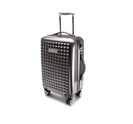 Valise rigide trolley 4 roues - 113 litres - KI0808 - gris anthracite