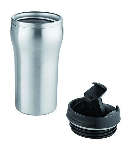 Thermos mug isotherme - 370-00 - gris argent