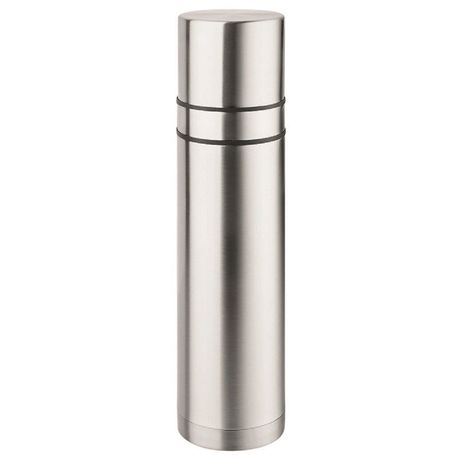 Bouteille isotherme thermos - 733-00 - gris argent