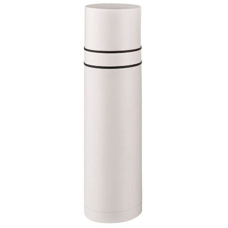 Bouteille isotherme thermos avec 2 gobelets - 733-00 - blanc