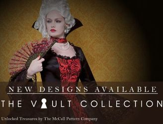 Patrons costumes historiques VAULT by McCall's