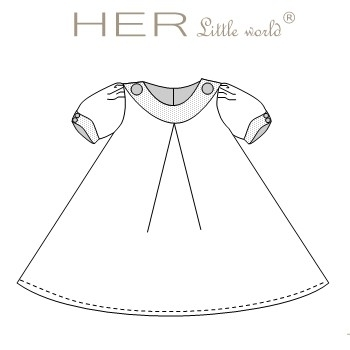 Robe Médiévale de HER little world