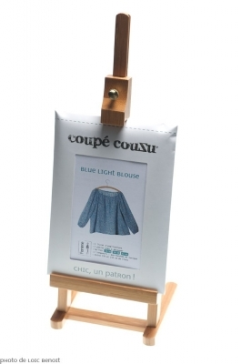 Patron Coupé Couzu Blue Light Blouse