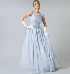Patron Vogue 8729 Robe de bal coupe Princesse vintage 1950's fifties