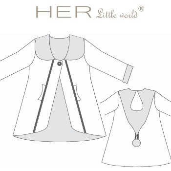 Veste BOREALE de HER little world