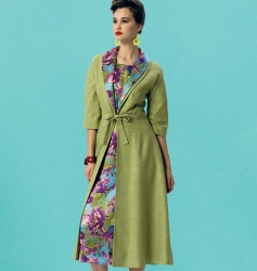 Patron Vogue 8875 Robe et veste femme vintage 1950's fifties