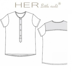 T-shirt Dégourdi de HER little world