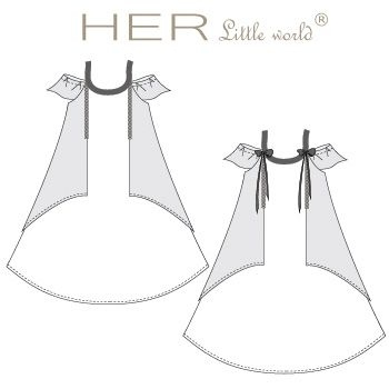 Robe Nébuleuse de HER little world