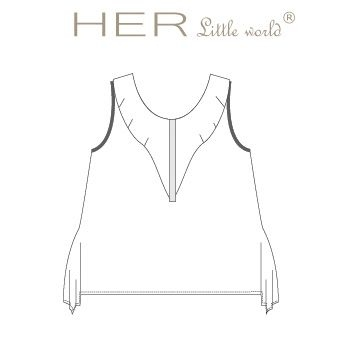T-shirt Aérien de HER little world