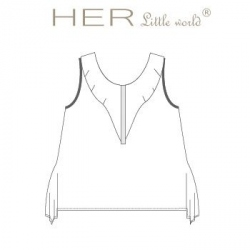 T-shirt Aérien Teen de HER little world