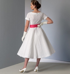 Patron Vogue 9105 Robe femme Vintage 1950's fifties