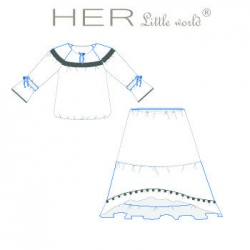Insouciante de HER little world