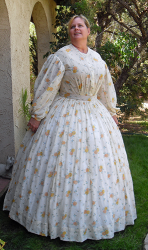 Truly Victorian TV447 Robe Sheer 1863