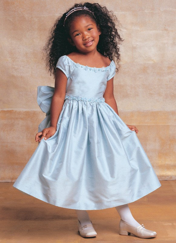 Patron Vogue 7681 Robe princesse fille