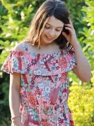 Robe, combi-short Champêtre de HER Little World