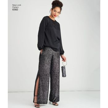 Patron Ensemble pantalon et tunique 38 à 46