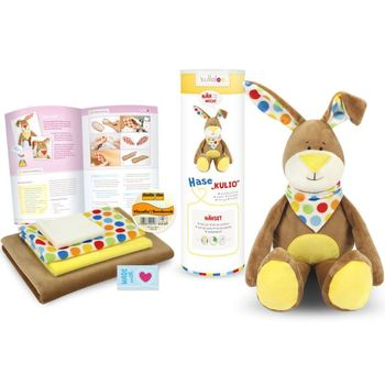 Kit couture peluche Doudou Lapin KULIO marron