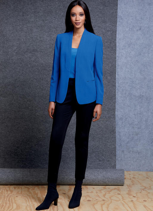 Patron Vogue 1606 Ensemble femme Veste et Pantalon slim