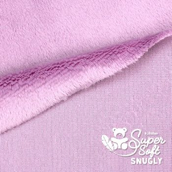 Coupon Tissu Peluche SuperSoft SNUGLY ivoire