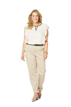 Patron Burda Pantalon basique forme conique