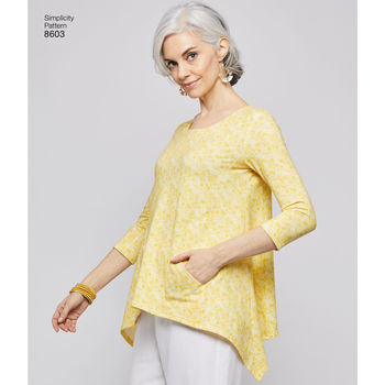 Patron Simplicity 7059 Blouse Tunique ample