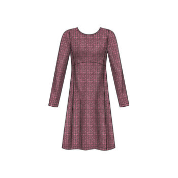 Patron New Look 6632 Robe pull femme