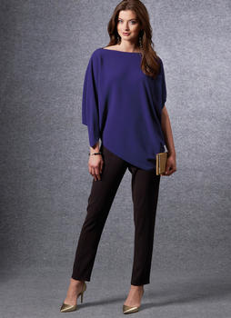 Patron VOGUE 1665 Ensemble Jupe T-shirt et pantalon