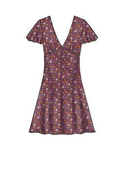 Patron McCALL's 8020 Robe femme taille empire