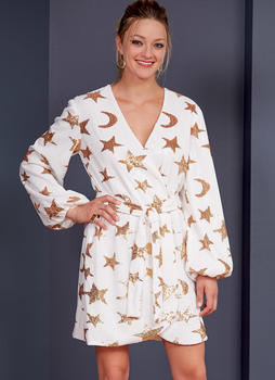 Patron McCALL's 8021 Robe femme portefeuille