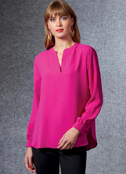 Patron VOGUE 1681 Blouse péplum