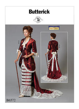 Patron Butterick 6572 par Nancy Farris-Thee